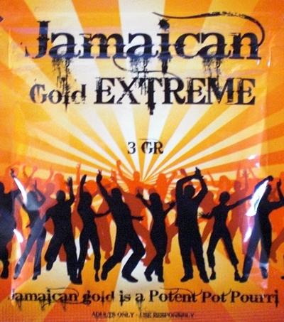 Raeuchermischungen Jamaican Gold Extreme