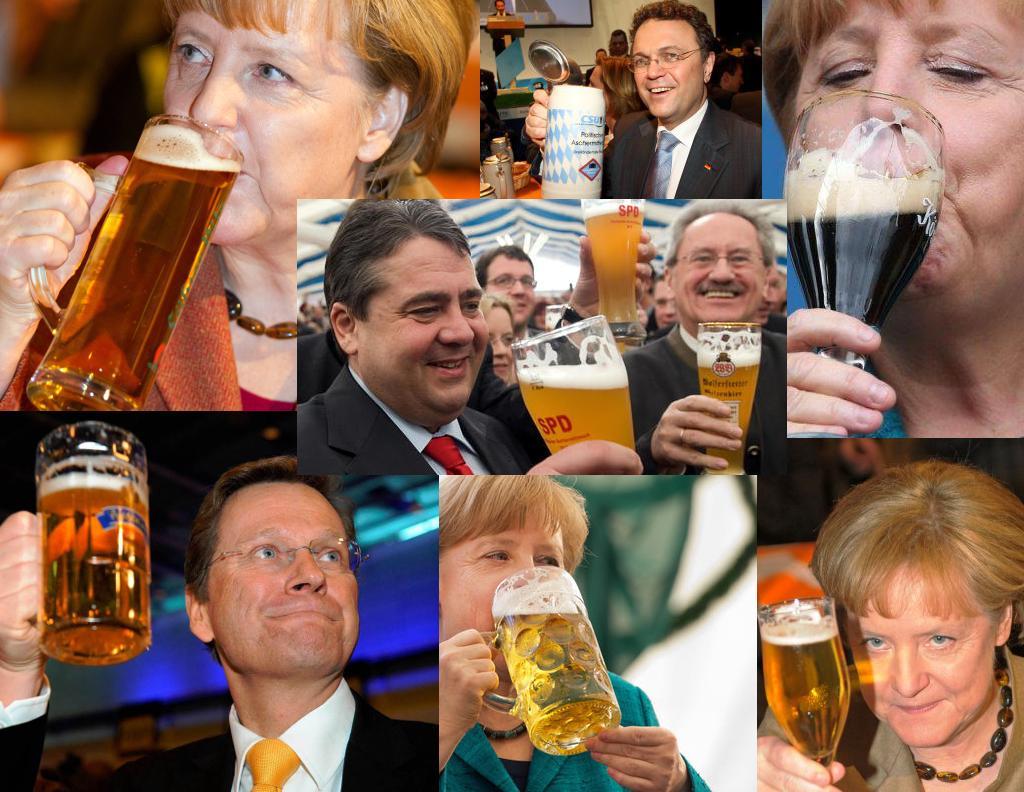 Politiker trinken Alkohol