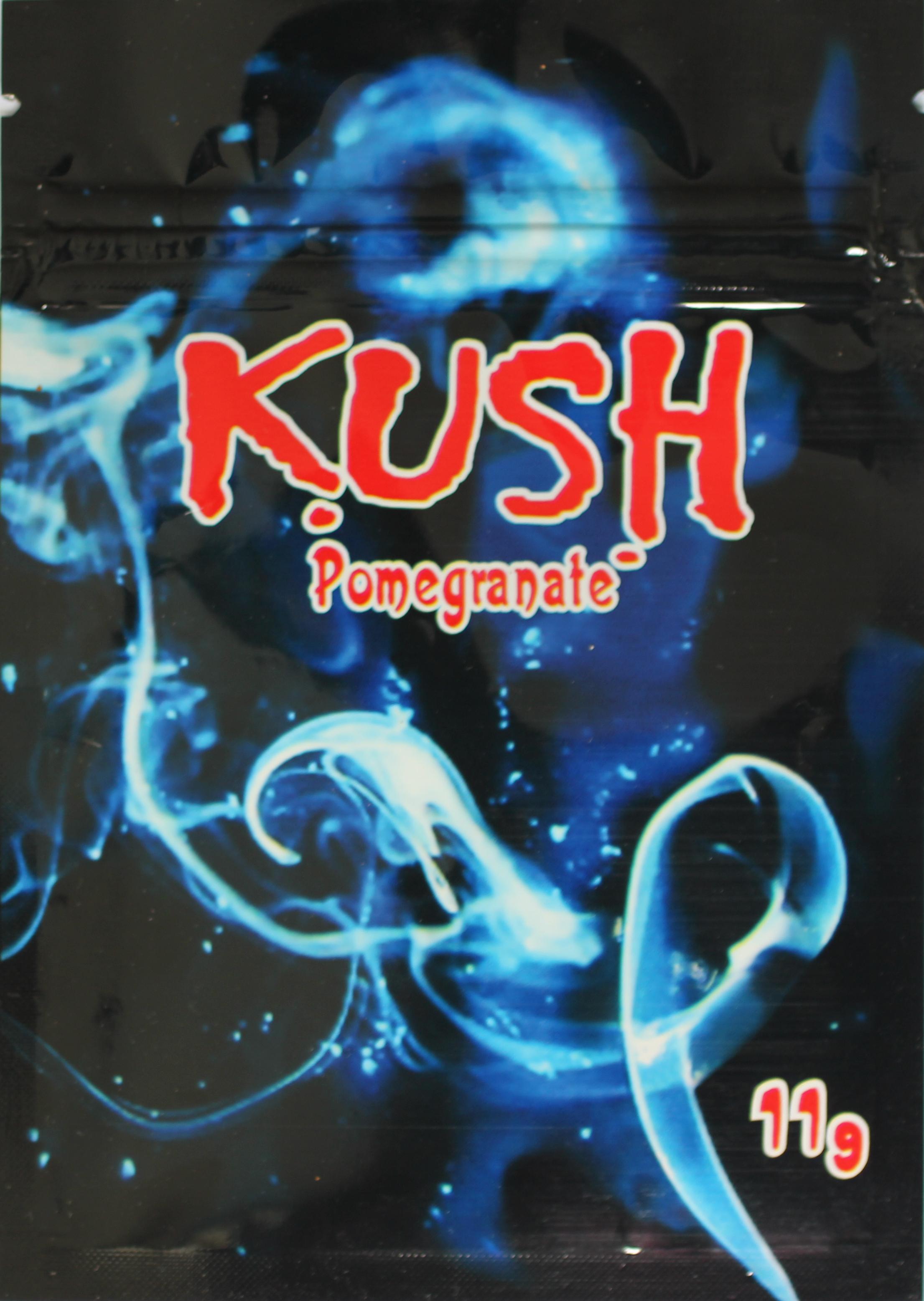 Kush Pomegranate Verpackung